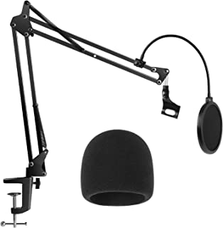 InnoGear Heavy Duty Microphone Stand with Mic Microphone...
