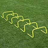 "Forza 6""/9""/12' Speed Hurdles for Agility Training [Set of 6] 