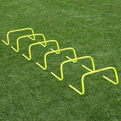 FORZA Speed/Agility Training Hürden (6er-Set) – Multi-Sport Trainingshilfe - wählen Sie Ihre Größe aus (23cm)