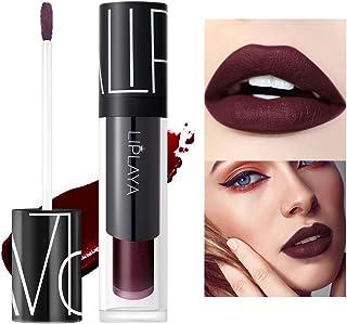 Mimore Moist Lipstick Trucco professionale Rossetto liquido per labbra, Tazza antiaderente impermeabile Colori sexy Rosset...