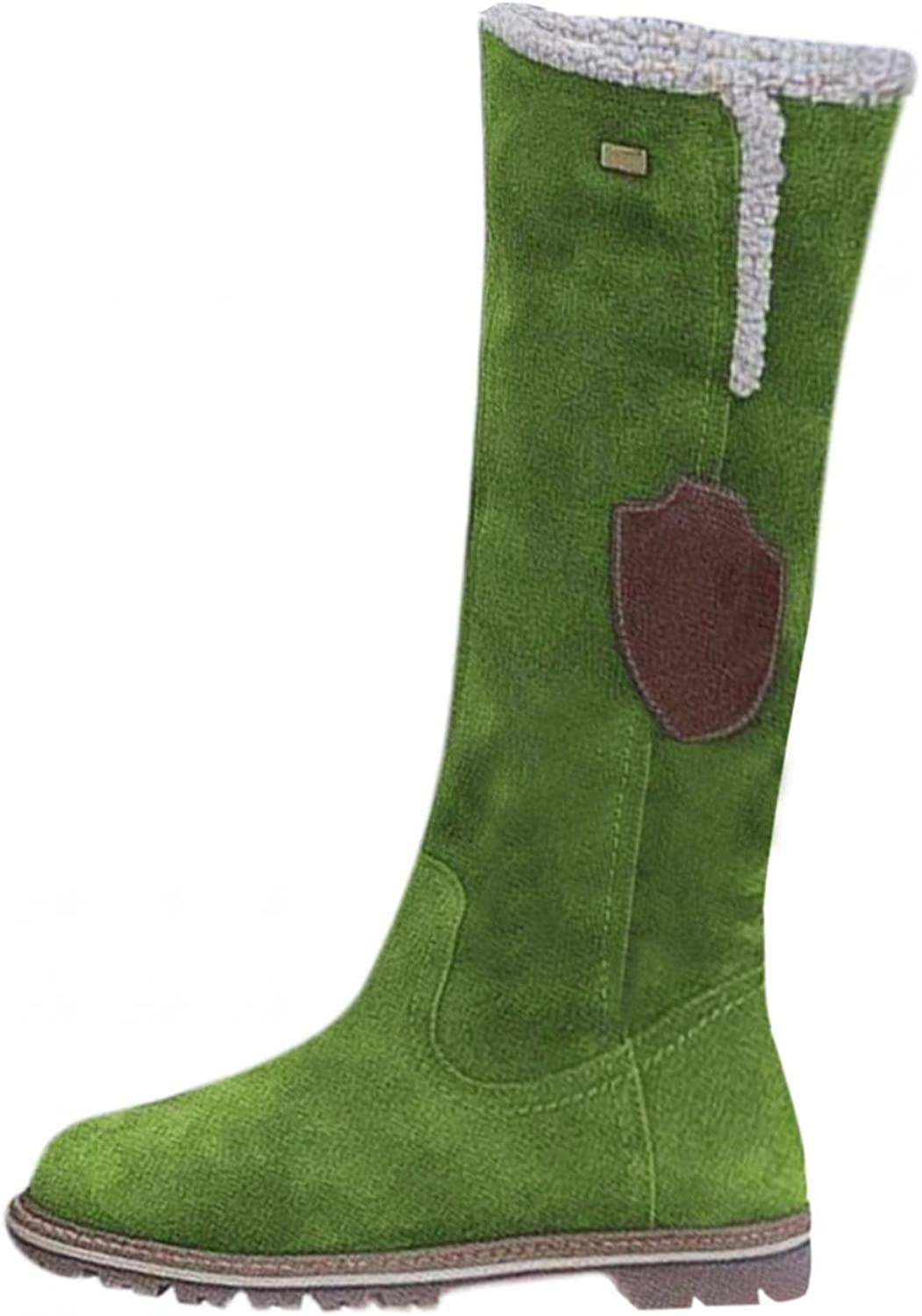 Knee High Brand new Snow Boots for Comfy Women Plush Lined Max 90% OFF Warm