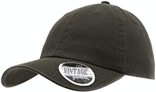 Classic Washed Cotton Twill Low Profile Adjustable Baseball Cap