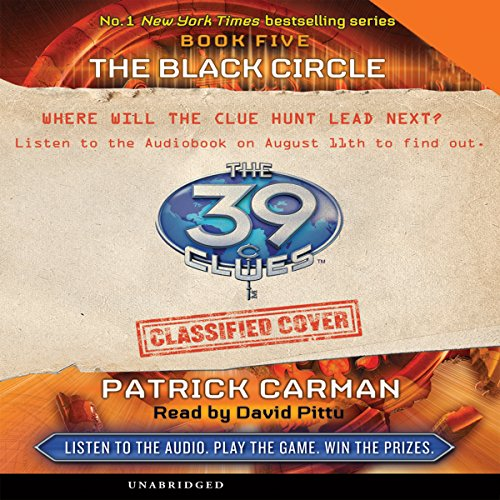 The 39 Clues, Book 5 audiobook cover art