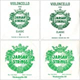 Jargar 4/4 Cello String Set Thin(Dolce)