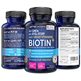 BIOTIN + High Potency Premium Hair, Skin & Nail...