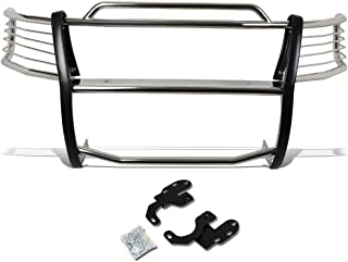 DNA MOTORING Silver GRILL-G-028-SS Front Bumper Brush Grille Guard