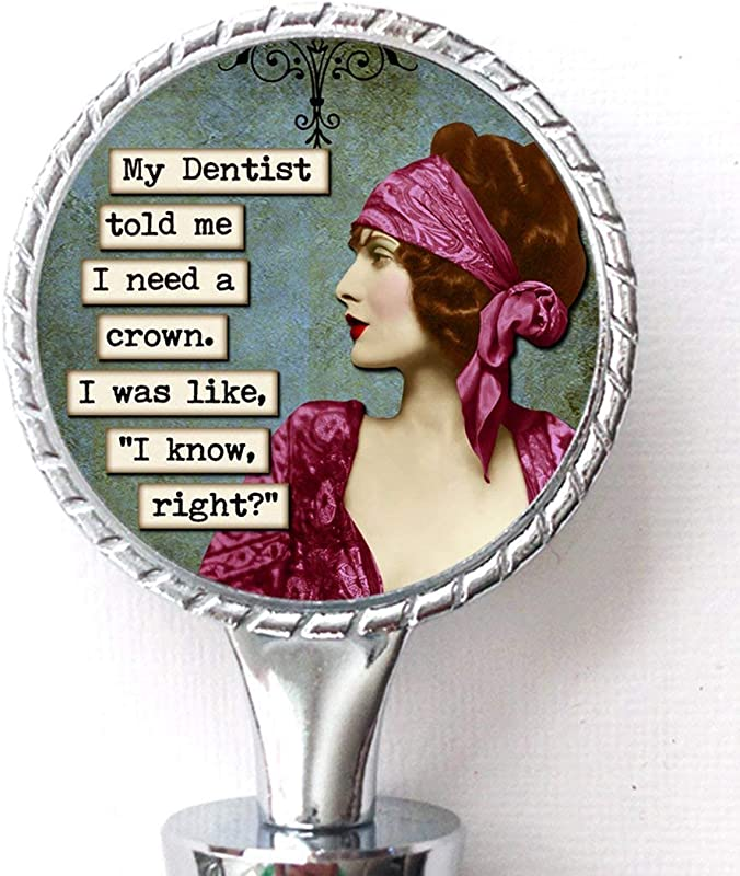 I Need A Crown Funny Wine Bottle Stopper