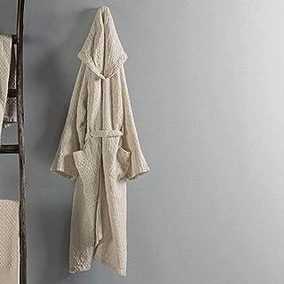 Gabel Naturae - Albornoz para adulto, 100% algodón, fabricado en Italia