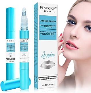 Lip glossLip Enhancer Sellador de lápiz Labial lápiz Labial con Bloqueo de Labios Copa antiadherente impermeable Líqu...