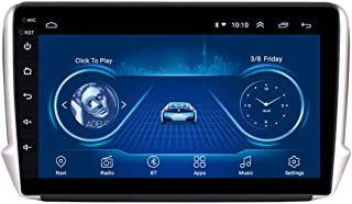 GPS Navigationssystem, 10,1 Zoll Android 8.1 Auto Multimedia Player 2.5D Voll Touchscreen für Peugeot 2008 208 Auto GPS Satellitennavigator,4g+wifi 2g+32g