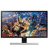 Samsung U28E510D Display Port+HDMI 3840x2160 28' Monitor,Black(Refurbished)