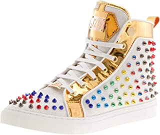 J75 Regal High Top Spiked Sneaker