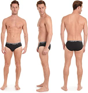 Men's 4-Pack Everyday Low Rise Briefs