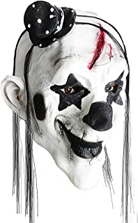 Scary Clown Mask, Horror Creepy Latex Clown Masks for Adult Haunted House Dressing Halloween Costume Masquerade Party Cosp...