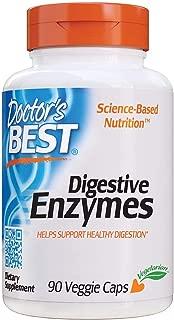 Doctor's Best Digestive Enzymes, Non-GMO, Vegetarian, Gluten Free, 90 Veggie Caps