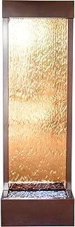 BluWorld Tall 6' Dark Copper Gardenfall with Bronze Mirror