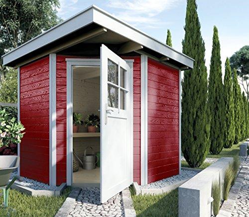 weka Gartenhaus 229 Gr.1, schwedenrot,...