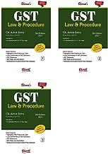 G S T (Law & Procedure) (in 3 vols.)