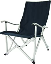 Crazy Sales Onway Aluminum Portable Folding Luxury Comfort Chair - Navy Blue/Outdoor/Balcony/Backyard/Garden/Event/Camping