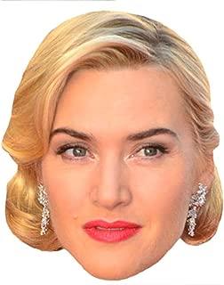 Kate Winslet Celebrity Mask, Card Face and Fancy Dress Mask
