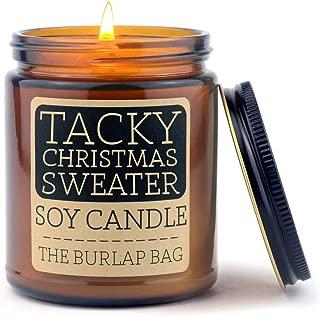 The Burlap Bag 9oz Soy Christmas Candles (Tacky Christmas Sweater)
