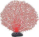 Nbvcxz Decoraciones de coral, exquisitos adornos artificiales de coral, simulación duradera de pecera, decoración de peces, paisaje fpr acuario para tanque de peces