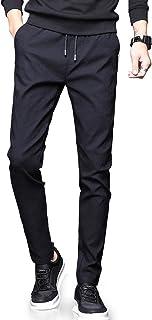 NEWHEY チノパン メンズ スキニーパンツ スーパーストレッチ スウェットズボン 細身デザイン 大きいサイズ ブラック ネイビー グレー