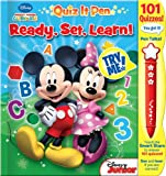 Mickey Mouse Clubhouse: Ready, Set, Learn! (Quiz It Pen!) (2013-05-04)