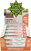 Cvetita Herbal BrownMag 29 Protein bar with Almonds and Chocolate Box of 12 Estimated Price : £ 30,00