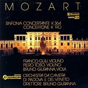 Mozart: Sinfonia Concertante K. 364, Concertone K. 190