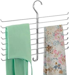mDesign porte-foulard – cintre foulard et rangement écharpes, foulards, sacs à main etc. – rangez vos accessoires de façon...