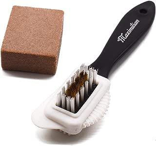 Shoe Brush, Suede & Nubuck 4-Way Brush + Eraser, Premium Shoe Cleaner Kit
