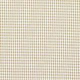 Baumwollstoff Vichy 0,2 cm – hellbraun — Meterware ab 0,5m — STANDARD 100 by OEKO-TEX® Produktklasse I — zum Nähen von Kissen/Tagesdecken, Tischdekoration & Freizeitkleidung