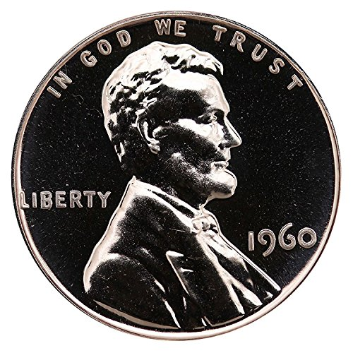 1960 Gem Proof Lincoln Memorial Cent Penny Proof US Mint