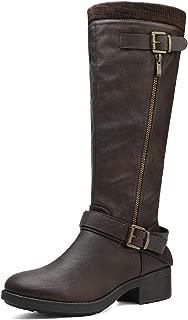 Women's Knee High Riding Boots (Wide-Calf)
