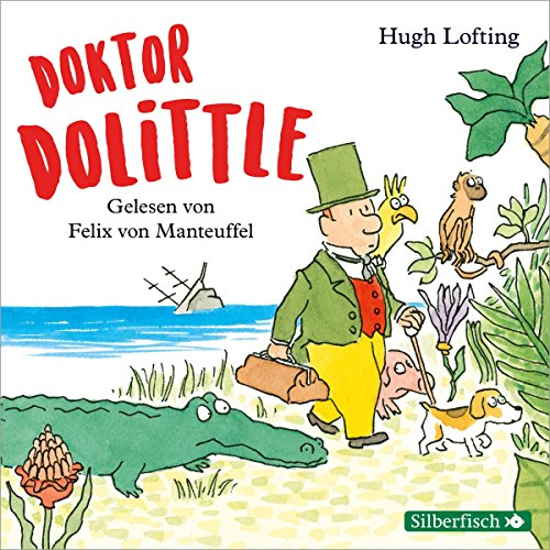 Doktor Dolittle audiobook cover art