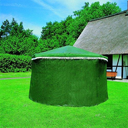 Promadino Wetterschutzumhang für Pavillon Rosenheim grün