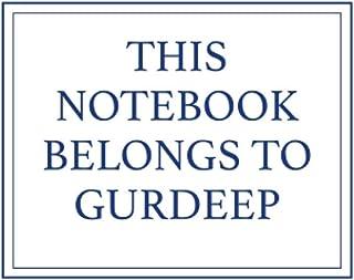 This Notebook Belongs to Gurdeep