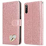 iPEAK For SONY Xperia L4 Case Shiny Leather Bling Glitter