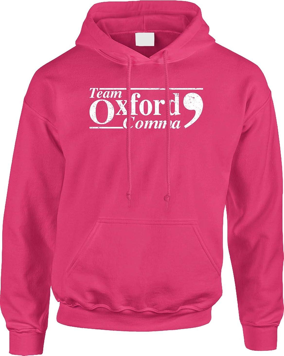 Blittzen Mens Hoodie Team Oxford Comma - Punctuation Proud