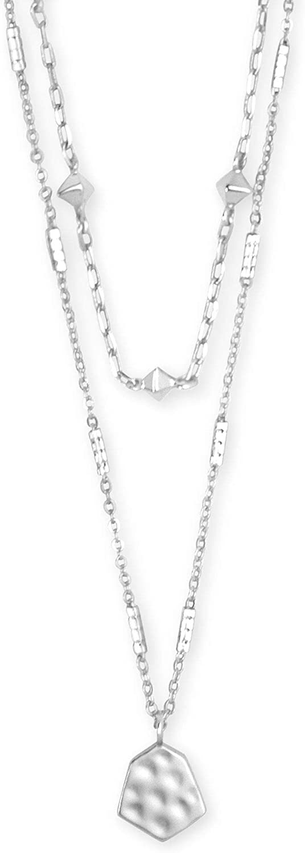 Kendra Scott Clove Multi Strand Adjustable Length Necklace for Women, Fashion Jewelry