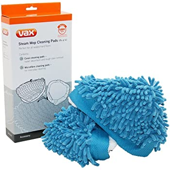 6x Microfibre Washable Cleaning Pads to fit Vax S2S-1 S2ST S3SU S7-A Steam Mop