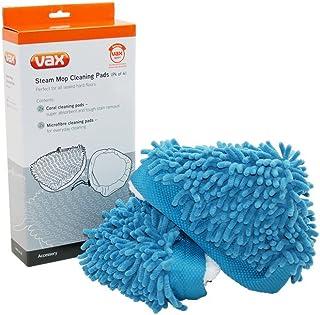 Vax VAX1113186400#1 Triangular Steam Cleaning Pads, Blue