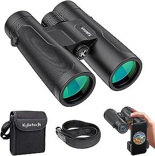 Verrekijker, Kylietech 12X 42 Robuuste Verrekijker Waterdichte Telescoop Volwassenen incl. Draagtas, Draagriem en Smartpho...