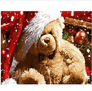CZYYOU Bild DIY Malen Nach Zahlen Weihnachten Home Decor Decor Decor Für Wohnzimmer Hand Einzigartige Geschenke 40x50cm-Gerahmt B07PCQWHZ3  Bestellungen sind willkommen a33e2d