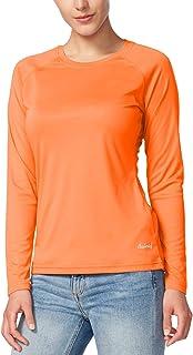 BALEAF Women's UPF 50+ Sun Protection T-Shirt SPF Long/Short Sleeve Dri Fit Lightweight Shirt Outdoor Hiking