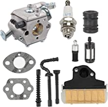 ATVATP MS 250 Carburetor fit Walbro WT-286 Stihl MS250 Carburetor MS230 MS210 021 023 025 Chainsaw 1123 120 0603 & 1123 160 1650 Air Filter