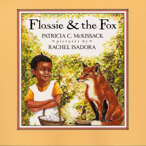 Flossie and the Fox audiobook cover art