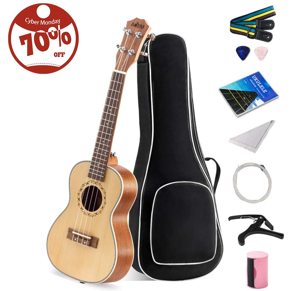 Kit%E3%80%91Soprano Beginners Stringed Instrument Accessories