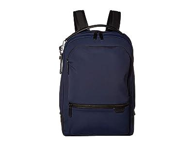 Tumi Harrison Bradner Backpack (Navy) Backpack Bags